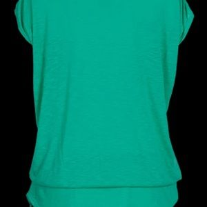 TAIL Activewear Tunic, Sea Glass Green, NWT Large